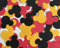 Mickey Mouse Party Decor Mickey Mouse Birthday Decorations