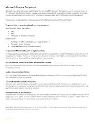 Free Professional Resume Template And Basic Word Sample For Highschool Students