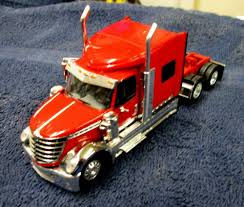 100 International Semi Truck DCP INTERNATIONAL LONESTAR SEMI TRACTOR RED WSLEEPER SEMI TRUCK EBay