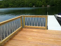 Awesome Cantilevered Deck And Nautical Railing.   House And Home ... Best 25 Deck Railings Ideas On Pinterest Outdoor Stairs 7 Best Images Cable Railing Decking And Fiberon Com Railing Gate 29 Cottage Deck Banister Cap Near The House Banquette Diy Wood Ideas Doherty Durability Of Fencing Beautiful Rail For And Indoors 126 Dock Stairs 21 Metal Rustic Title Rustic Brown Wood Decks 9
