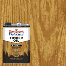 thompson s waterseal 1 gal natural penetrating timber oil