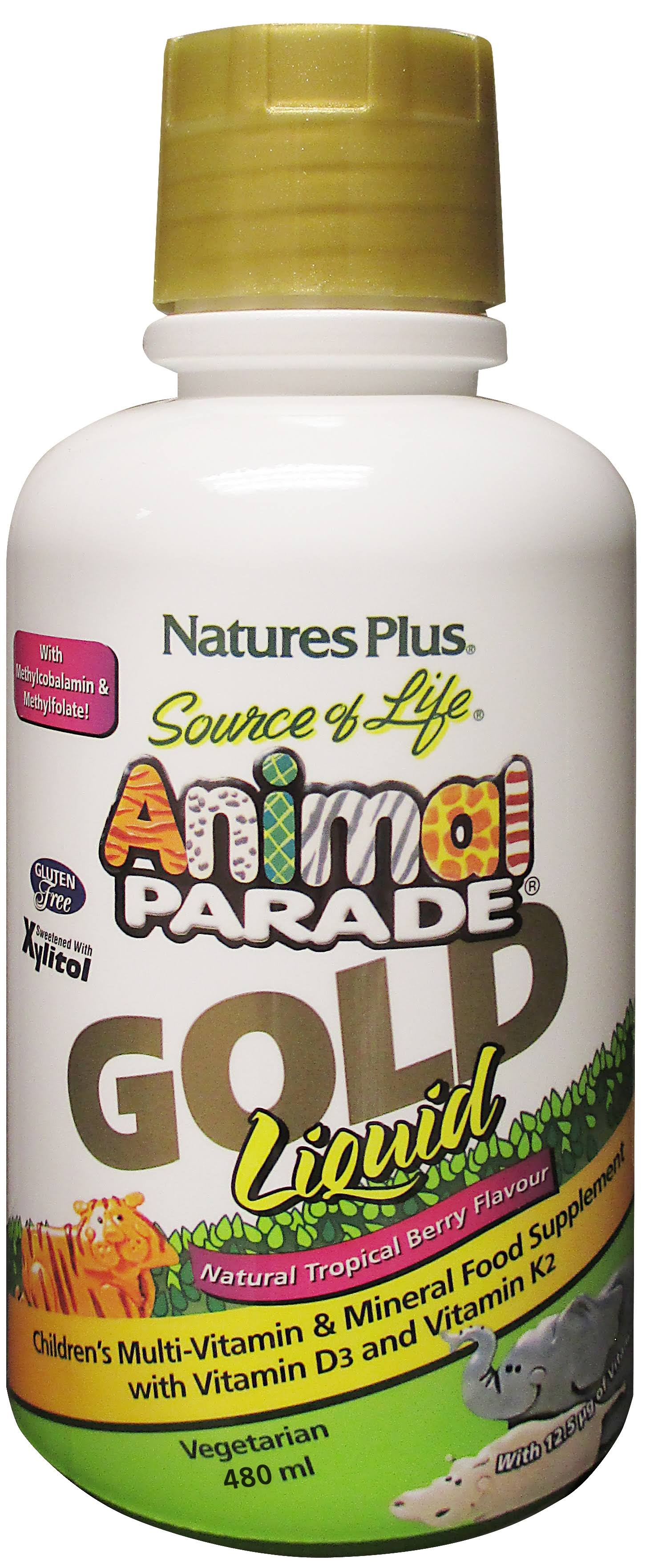 Source of Life Animal Parade Gold Liquid Children's Multivitamin