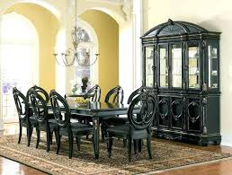 Full Size Of Black Dining Room Sets Buffet Furniture Suites Home Decor Painted Table Decorating Ideas