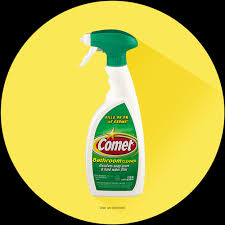 liquid comet bathroom cleaner spray with disinfectant