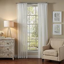 Bed Bath And Beyond Sheer Window Curtains by Solarshield Borinda Rod Pocket Uv Filtering Sheer Window Curtain