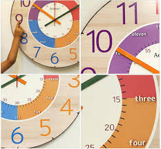 Benefits Educational Watches Suit The Interior Crockers Clockids Giant Watch Wall Clock Large Colorful