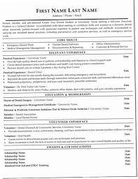 Dentist Resume Samples 8OZX General Sample Amp Template