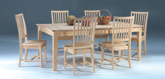 Dining Chairs Cool Unfinished Dining Chairs Ideas Unfinished Oak