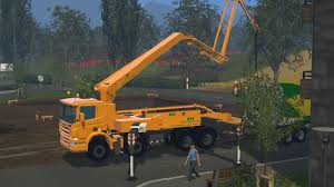 100 Concrete Pumper Truck CONCRETE PUMP V10 FS17 Farming Simulator 17 Mod FS 2017 Mod