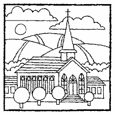 Best Church Coloring Pages To Print 77 In Gallery Ideas With