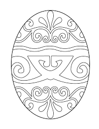 Beautiful Coloring Free Printable Easter Eggs Pages At Egg For Kids