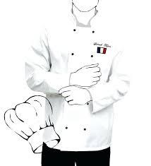 veste de cuisine homme brodé veste de cuisine personnalisee cuisine veste de cuisine homme