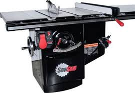 exploring the safety features on sawstop brand table and cabinet