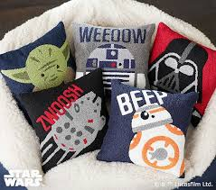 Pottery Barn Decorative Pillow Inserts by Star Wars Boucle Decorative Pillows Pottery Barn Kids