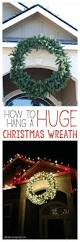 Outdoor Christmas Decorations Ideas Pinterest by Best 25 Outdoor Christmas Wreaths Ideas On Pinterest Homemade