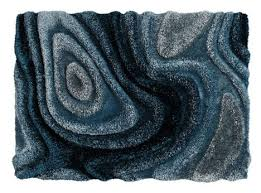 Plush Topography Thick Rugs Raised Like 3D Land Forms