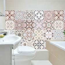 arabisch retro fliesen aufkleber für küche bad vinyl fliesen selbstklebende wand aufkleber diy decor tapete wasserdichte wand aufkleber