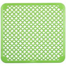 tapis d evier de cuisine tapis cuisine fond d evier vert 30x30cm achat vente tapis d