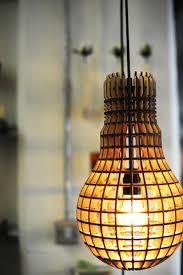 Laser Cut Lamp Shade Uk by Wooden Bulb Pendant Light Uk Designer Laser Cut Lamp Industrial
