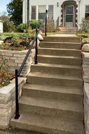 How to Install an Outdoor Aluminum Handrail Handyman Club