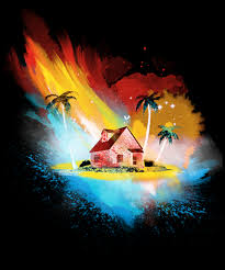 100 Kames House Sunset On Kame House From Qwertee Day Of The Shirt