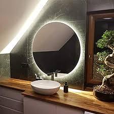 artforma rund badspiegel mit led beleuchtung 50cm wählen