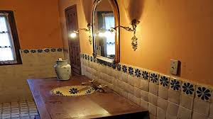 Rustic Restaurant Decor Ideas, Mexican Style Bathroom, Mexican Tile ... Ideas For Using Mexican Tile In Your Kitchen Or Bath Top Bathroom Sinks Best Of 48 Fresh Sink 44 Talavera Design Bluebell Rustic Cabinet With Weathered Wood Vanity Spanish Revival Traditional Style Gallery Victorian 26 Half And Upgrade House A Great Idea To Decorate Your Bathroom With Our Ceramic Complete Example Download Winsome Inspiration Backsplash Silver Mirror Rustic Design Ideas Mexican On Uscustbathrooms