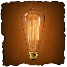 edison bulb squirrel cage filament 30 watt light bulb