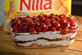 cheesecake lasagna cherry cherry cheesecake cookie lasagna nilla wafer