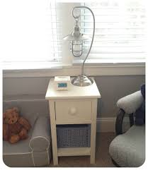 Vintage End Table With Lamp Attached by End Tables With Lamps Iron Wood
