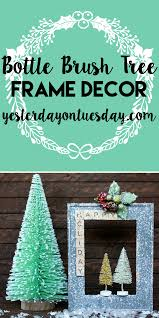 Seattle Christmas Tree Disposal 2015 by Bottle Brush Tree Frame Decor Yesterday On Tuesday