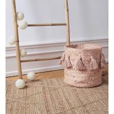 chambre bébé beige tapis elise rectangle beige pour chambre bébé fille par nattiot