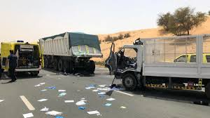 100 Truck Accident Three Crushed To Death In Truck Accident On Emirates Road The National