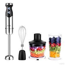 mixeur de cuisine habor 3 en 1 mixeur plongeant inox multifonction mélangeur blender
