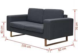 blau grün gelb 2 sitzer lounge sofa kleines