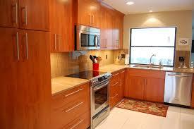 Modern Natural Cherry Kitchen