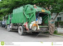 Ashman Loads Garbage Into A Truck Editorial Image - Image Of Rubbish ...