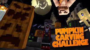 Minecraft Pumpkin Design by Minecraft Mods Pumpkin Carving Challenge Pumpkin Carver Mod