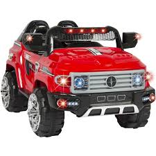 Kids Ride On Truck With Remote Control, LED Lights, And Music, Red ... Best Lights For Truck Amazoncom Ijdmtoy 5pcs Amber Led Cab Roof Top Marker Running 2 X Top Quality Bumper Firesafety Rescue Engine Truck With Music Park Ranger Vehicle Lights Flashing Stock Photos 5x Smoked Suv Off Road 5 For Trucks Bumpers Windshield Jeep Tents Tuff Stuff 4x4 2016 Ford F150 Special Service Joins Police Force News 12 Rv Discount Universal Teardrop Style Led Clearance