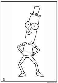 Rick And Morty Coloring Pages 01