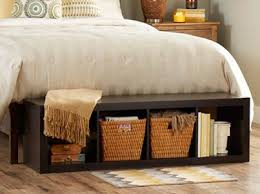Attractive Storage Bench Foot Bed Best 25 End Bed Bench