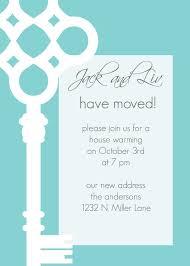 JackandLiv Custom Key Moving Annoucement Or Housewarming Invitation