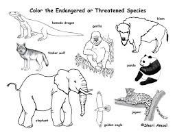 Coloring Pages Index Exploring Nature Educational Resource