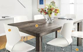 Farm Table Meets Modern Style Dining Room Design