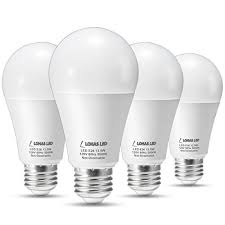 lohas led light bulbs 100 watt equivalent daylight 5000k a19