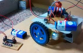Floor Cleaning Robot Project Report by Rf Controlled Robot Project And Circuit Diagrams For Rf