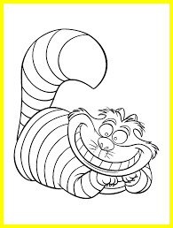 Amazing Inspiring Cheshire Cat Coloring Picture For House Concept And Page Pics Ideas Color