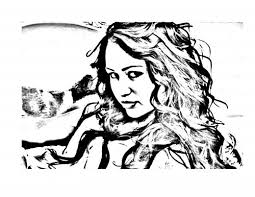 Miley Cyrus Letscoloringpages Coloring Pages 4
