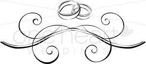 Wedding Rings Flourish