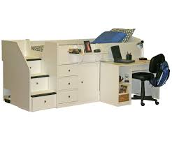 Sierra 22 721 and 22 722 Captain s Bed with Hideaway Desk and